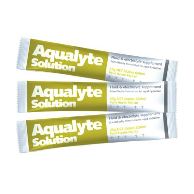 Aqualyte 25g – LEMON-LIME Flavour Various Size Packs
