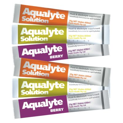 Aqualyte 25g – Various Flavours – 10 pack